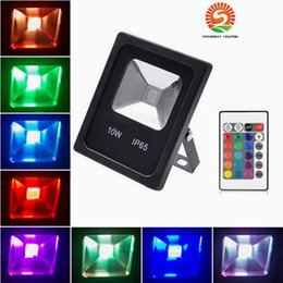 Wholesale Light Reflectors For Led - Outdoor landscape lighting 10W 20W 30W 50W RGB Led flood light Waterproof IP65 Reflector LED floodlights for garden
