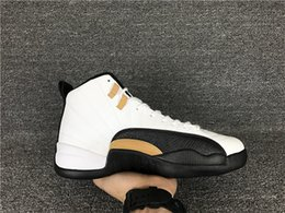 Wholesale Nude Chinese Women - Original High Quality Air Retro 12 Chinese New Year 3M Reflect Men Basketball Shoes 12s Taxi White Black Gold Athletics Sneakers New