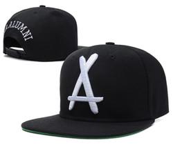 Snapback de ex-alunos brancos on-line-Tha Alumni Snapback grande branco A ajustável chapéus, homens baratos e mulheres esportes bonés de beisebol, Flat Brim Hip Hop Cap