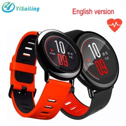 Wholesale Dual Os Phone - Xiaomi Huami AMAZFIT SmartWatch GPS Amazfit Sports Smart Watch Bluetooth WiFi Dual 512MB 4GB Heart Rate Monitor Waterproof for IOS English