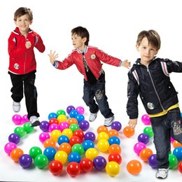 Wholesale Soft Inflatable Plastic Balls - Pit Balls, Da dou dou Colorful Fun Crush Proof Balls Soft Plastic Air-Filled Ocean Ball Play balls for Baby Kids Tent Swim Toys Ball Pack o