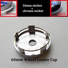 Wholesale Volvo Alloys - 60mm 2.36inch car emblem wheel center caps for volvo XC90 XC70 XC60 V40 V50 V60 V70 V90 S40 S50 S60 S70 S90 auto emblem wheel badge caps