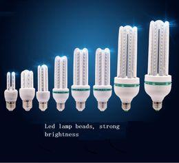 Wholesale Led Corn Globe Bulb E27 - High-quality E27 interface 220v LED bulb U-type corn lamp lighting garden lights LED indoor lighting energy-saving lamps bulb