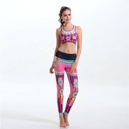 Wholesale Womens Shapers - Colorful womens tracksuits shapers Sexy sports bras slimming pants for running yoga gym Wholesale corsets jogging suits