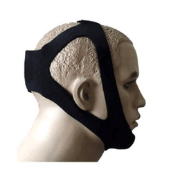 Wholesale Wholesale Chin - New Anti-snore Headband Stop Snoring Snore Stopper Chin Strap Dislocated Jaw Snoring Resistance Band Sleep