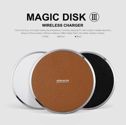 Wholesale Digital Universal Charger - Original Nillkin Fast charge Edition Magic Disk III wireless charger for Qi standard mobile digital devices