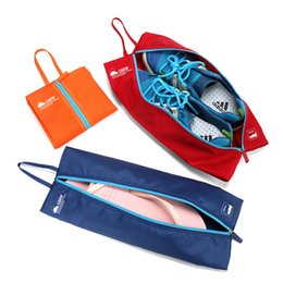 Wholesale Wholesale Silk Shoe Bag Pouches - 4 Color Storage Bags Waterproof Travel Pouch Luggage Storage Bag Clothing Sealing Underwear Shoes Sorting Portable Bags