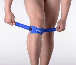 Wholesale Knee Stabilizer Wrap - Wholesale Adjustable Knee Support Brace Knee Patella Sleeve Wrap Cap Stabilizer Sports Black climbing foot protection knee Pad