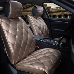 Wholesale Luxury Seat Covers For Cars - Luxury Leather car cushion Universal For Mercedes,Ford, Nissan,Car Seat car Covers Auto protection Car Seat Covers