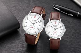 Wholesale Color Belt Strap For Men - Famous Brand Replica NOMOS Watches Leather Strap Luxury Watches for Men Minimalism Glashütte NOMOS Quartz Watches Free Shipping