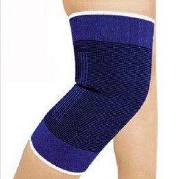 Wholesale Free Running Gear - Tc care knee basketball blue knee movement Thermal protective devices running outdoors yoga gear to sell cheaper Free shipping