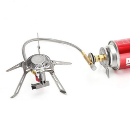 Wholesale Camp Ovens - Outdoor Camping Gas Burner Ovens Portable Picnic Folding Stove kitchen 3000W