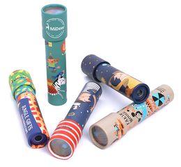 Ciência nova para crianças on-line-NEW - Caleidoscópio Brinquedos Infantis Crianças Educacional Ciência Brinquedo Brinquedos Clássicos Caleidoscópios Rotativa, Brinquedos Interativos Presentes para Crianças
