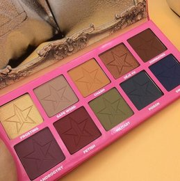 Wholesale Outlet Dhl - NEW Jeffrey star ANDROGYNY eyeshadow palett makeup palettes Five star cosmetics Highlighter blush Factory Outlet dhl free Shipping kylie mor