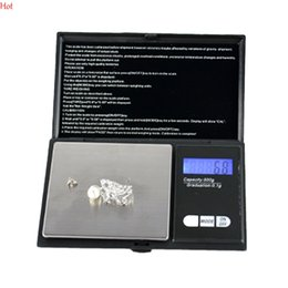 Wholesale Mini Led Digital - 500G X 0.1G Mini Precision Digital Scale For Gold Sterling Silver Jewelry Scales Led Display Units Pocket Electronic Scales 1206