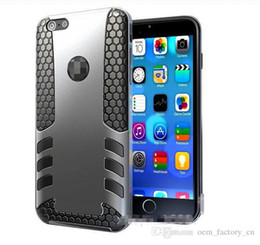 Wholesale Iphone 4s Dual Cases - For iPhone 6s Rocket Hybrid Rugged Case Dual Layer Heavy Duty Tough Defender Protector for 6plus 5 5s SE 4s Samsung S6 Edge S5 LG G3