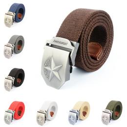 Wholesale Men S Fashion Accessories - Fashion Accessories Belts Men 's Casual Belt Men' s Canvas Belt Spot wholesale 26 color gift 1238