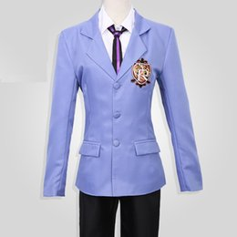 Wholesale High Host - Ouran High School Host Club Cosplay Costume (Female Size) uniform suit cosplay personality clothing anime coats sweater