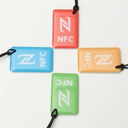 Wholesale Nfc Business Card - Wholesale- 4PCS A Lot N-T-A-G 216 Universal 888 bytes NFC Tags for Business Card Access Control Hpme Usage Different Quality