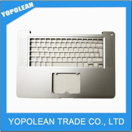 Wholesale Free Apple Macbook - New UK Palmrest TOP CASE For Macbook Pro A1286 15'' MC721 MC723 2011 2012 Year Silver Free Shipping
