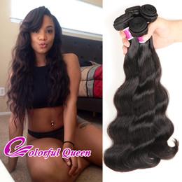 Wholesale Cheap Colorful Weaves - Colorful Queen Brazilian Virgin Hair Body Wave 4pcs Cheap Mink Brazilian Body Wave Human Hair Bundles Weaves Brazilian Hair Extensions 400g