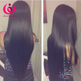 Wholesale Malaysian Sale - Cheap Human Hair Weave Sew In Extension Wholesale Brazilian Straight Hair Wow Queen Peruvian Virgin Hair Soft and Thick Bundles On Sale
