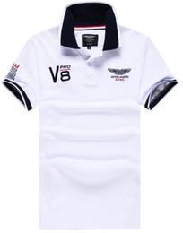 Wholesale Racing Business - Season Sale 2017 Great Britain London Hackett Casual Polo Shirts England Mens Business Polos Autumn Summer HKT Racing POLO Shirt