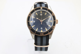 Wholesale Watch Big Size Men - Big sell wholesale hot sell Mans watch 45mm size black face canvas strap; AAA quality watch 200