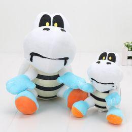 Wholesale Mario Figures 23cm - 15cm   23cm Super Mario Brothers Plush Dry Bones Figures Stuffed Plush Toy Cartoon Animal Stuffed hot sale