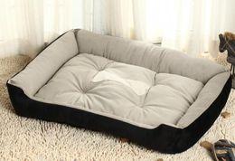 Wholesale Cozy Plush Wholesale - Free Shipping M Size Puppy Pet Dog Cat Soft Fleece Warm Bed House Plush Cozy Nest Mat Pad Cushion