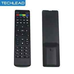 Wholesale Set Wireless Video - Wholesale- Cheap portable Wireless remote control universal controller for linux mag250 tv box mag254 set top box