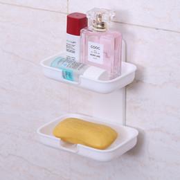 Strong Bathroom Hanging Rack Kitchen Suction Corner Tub Holder Bathroom  Shower Bath Storage Shelf   Color