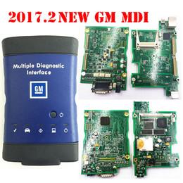 GM MDI wi-fi hdd 2017.2 optinal Interface De Diagnóstico Múltiplos gm mdi Ferramenta de Diagnóstico para carros / caminhões com frete grátis DHL de Fornecedores de chips bluetooth por atacado