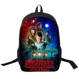 Wholesale American Girl School - Wholesale- Stranger Things Backpack For Teenage Children School Bags Boy Girls School Backpacks Kids Schoolbag Stranger Things Student Bag