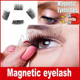 Wholesale Perfect Eyelashes - False Eyelashes Magnetic Lashes eye makeupTouch Soft Wear With No gule magnet eyelashes Perfect for everyday 4PCS=1pair