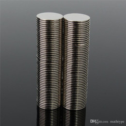 Wholesale Magnets Mm - 100pcs 12 x 1 mm Sucper Strong Round Disc Magnet Rare Earth Neodymium N50 Circular magnet Permanent magnet