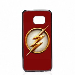 Wholesale S4 Phone Covers - The Flash DC Comics Phone Covers Shells Hard Plastic Cases For Samsung Galaxy S4 S5 MINI S6 S7 edge S8 S8 Plus