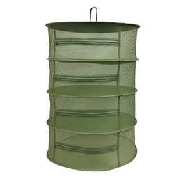 """Wholesale Vinyl Clothing - 24""""D x 35.5""""H Drying Net 4 Layer With Zippers Herb Drying System Net Plant Herb Drying Rack Hanging Net"""