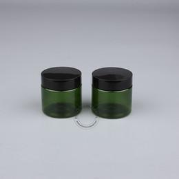 Canada Pot en plastique vide de 30pcs 50ml gramme avec le couvercle cosmétique empaquetant le pot de bouteille de maquillage pour les récipients de crème de main de masque facial Offre