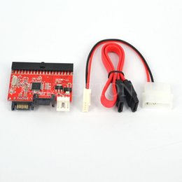 "Wholesale Ide Adapters - Wholesale- 2 in 1 Mutual , 2.5"" 40pin IDE to SATA   SATA to IDE Converter for DVD CD HDD , Bidirectional Transfer PC Computer Adapter"