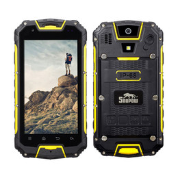 Wholesale Tri Micro Sim Card - SNOPOW M8-LTE Unlocked 4G Rugged Smartphone - Android IP68 Waterproof Dustproof Shockproof Outdoor Tri-proof With DualSIM Powerbank PPT NFC