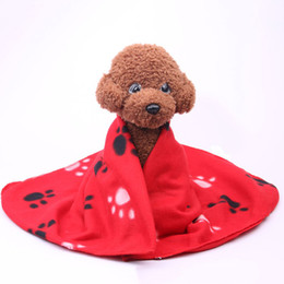 Wholesale Dogs Warming - Pet Supplies Dog Bed blankets Soft Warm Bed Blankets Double-Sided Available Cat And Dog Blankets 60*70CM Dog Accessories 4 Colors