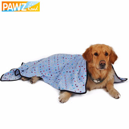 Wholesale Puppy Dog Towels - Wholesale- Pawz Road Large Dog Blanket Towel For Dogs Colorful Dot Blanket For Pets Puppy Cat Mat Lovely Kitten Bath Towel Quilt