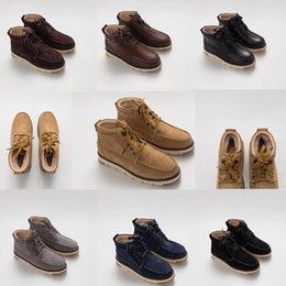 Wholesale Pull Boots - Free Shipping B-h 8, the vamp goo inside are all sheep fur and snow boots pull shoes men's shoes