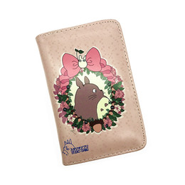 Wholesale Wallet Totoro - Wholesale- Fashion 2016 Women Wallets Card Holder Women Purse Totoro Wallet Zipper & Hasp Long Purse Ladies Wallet Dollar Price