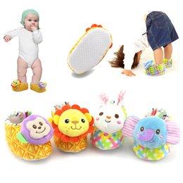 Wholesale Baby Monkey Shoes - Wholesale- Infant Newborn Toddler Baby Boy Girls Cotton Soft Sole Crib Cute Animals Rabbit Elephant Lion Monkey Shoes 0-12M Antiskid