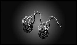 Boucles d'oreilles en Ligne-Nouveau creux lanterne Drop boucles d'oreilles bijoux lanterne plaqué en forme de balancent lustre femmes fille cadeau fête mode boucles d'oreilles bijoux