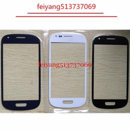 Высокое качество внешнего стекла для Samsung Galaxy S3 mini i8190 LCD переднее стекло Замена внешней линзы от