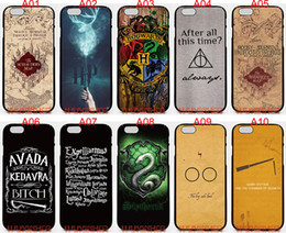 Wholesale Quote Iphone 4s Case - Harry potter quotes For iPhone 6 6S 7 Plus SE 5 5S 5C 4S iPod Touch 5 For Samsung Galaxy S6 Edge S5 S4 S3 mini Note 5 4 3 phone cases