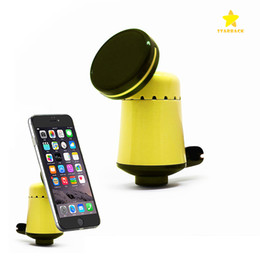 Wholesale Car Mount Rotating Clip - Mini Perfume Car Air Vent Clip Magnetic Mount Holder 360 Degree Rotating Magnet Stand for Cellphone Mobile phone iPhone 8 Samsung